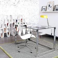 chrome office desk. desk black and chrome office glass top desks s