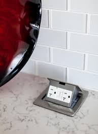 pop up receptacle. Simple Pop Kitchen Design Idea  Install A Pop Up Outlet Directly Into Your Countertop Intended Receptacle