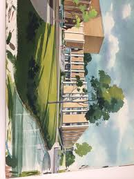 semester recap the unbridled beauty of watercolor renderings battle hall highlights