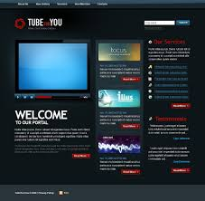 website template video video gallery website template 21714