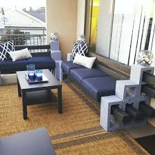 concrete block furniture. Concrete Block Furniture Cinder Bench For Your Backyard E