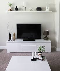 White Living Room Cabinets Furniture Modern Living Room With White Minimalist Tv Stand On