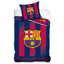 fc barcelona blaugrana single cotton duvet cover set