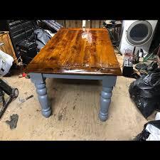 husky dining table legs 5 x 5 x 29