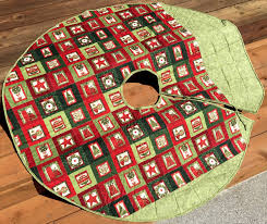 Quilted Christmas Tree Skirt Pattern Unique Ideas