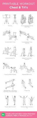 chest triceps workout