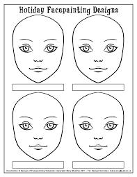 face painting stencils to print 5b88011d9502287189efde179f30dbdc
