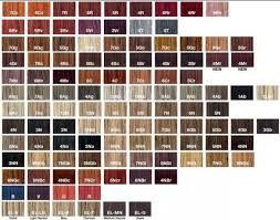 Ion Permanent Creme Hair Color Chart Ion Color Brilliance Chart Best Picture Of Chart Anyimage Org