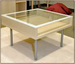 modern glass coffee table with storage where to top drawer pertaining remodel intended for residence
