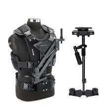Flycam 10 Handheld Stabilizer with Comfort Arm Vest for Video DSLR Cam