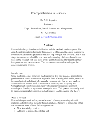 Conceptualizing A Research Design Pdf Conceptualization In Research