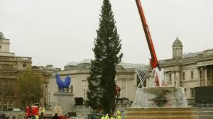 Trafalgar Square Christmas tree - ITV News