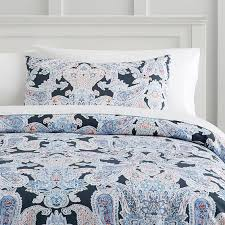 paisley duvet cover incredible luna sham pbteen with 4