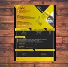 Modern Free Resume Template Design For Graphic Designers