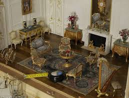 little wonders drawing room furniture next to a tape measure left and miniature