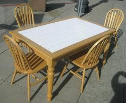 tile outdoor table. Ceramic Tile Table Top Kitchen Interior Design For Dining Room On . Outdoor
