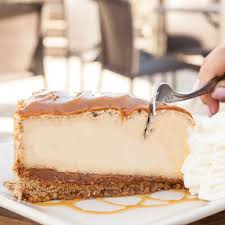 the cheesecake