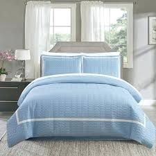 hotel collection duvet sets chic home blue banded 3 piece cover set covers canada bedding sheets hotel collection