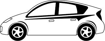 エコカー 01 乗り物のイラスト素材 イラストポップ