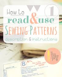 How To Use Sewing Patterns Magnificent Inspiration