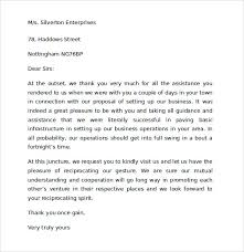 Thank You Letter To Customer Thank You Letter To Client For Giving Business Scrumps