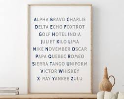 Check out our nato phonetic alphabet selection for the very best in unique or custom, handmade pieces from our watch bands & straps shops. Nato Alphabet Etsy