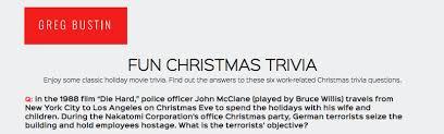 Fun Christmas Trivia