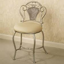 aged gold polished metal stool