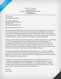 Security Guard Cover Letter  security guard resume sample