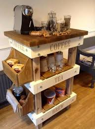 coffee station furniture. interesting station pallet and reclaimed wood tea u0026 coffee station and furniture