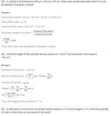 NCERT solutions for class 8 maths chapter 11 mensuration Ex-11.4 ...