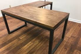 rustic modern office. The Industrial Carruca Office Desk - Large Executive Modern Design Rustic E