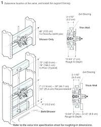 gallery of standard shower heights tub valve height bathtub amazing quality 6