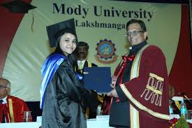 vish prasad ninth convocation ceremony of mody university mody university news