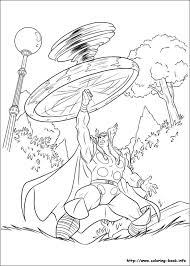 Small Picture Thor coloring pages on Coloring Bookinfo