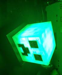 Minecraft Led Light Minecraft Creeper Timed Night Light Lamp Prototype 7