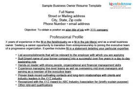 ... Sensational Design Small Business Owner Resume 13 Sample Business Owner  Resumes ...