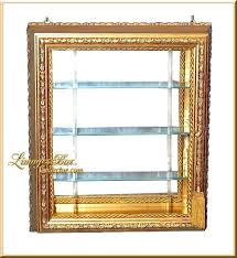 wall mount display cabinet hanging curio for collectible mounted ikea bertby cabinets