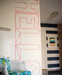 diy wall murals for the untalented
