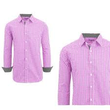 Galaxy By Harvic Size Chart Shop Galaxy By Harvic Mens Long Sleeve Checkered Button