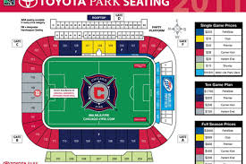 Toyota Stadium Football Seating Chart Toyota Park Concessions More Than Meets The Eye Hot Time
