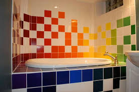 Best Tile Combinations For Small Bathrooms 28 Awesome To Home Colorful Bathroom Ideas