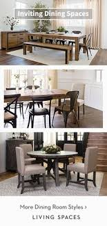 warm rustic dining rooms dining tables chairs and sets to gather around for