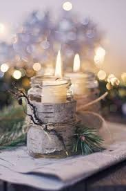 40 Romantic and Beautiful Christmas Candles Decoration Ideas