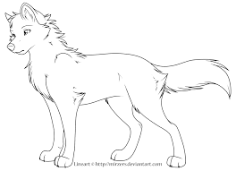 Small Picture Anime Wolf Boy Printable Coloring PagesWolfPrintable Coloring