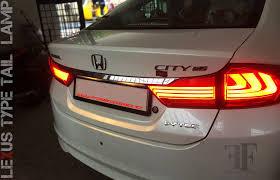 Lexus Type Tail Lamp Conversion On Honda City Day Time Running