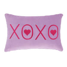 Image Leather Shop Purple Xoxo Velvet Pillow Free Shipping On Orders Over 45 Overstockcom 19532054 Overstock Shop Purple Xoxo Velvet Pillow Free Shipping On Orders Over 45