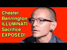 Resultado de imagen de Chester Bennington vs Illuminati