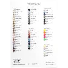 Pearl Color Chart Swarovski Crystal Pearl Colour Chart