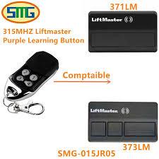 liftmaster 371lm 373lm garage door opener replacement 315mhz remote control